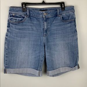 Talbots Boyfriend Denim Shorts
